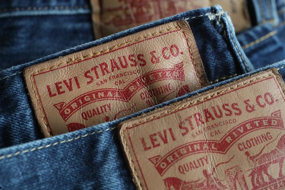nhãn hiệu levi Strauss & co.
