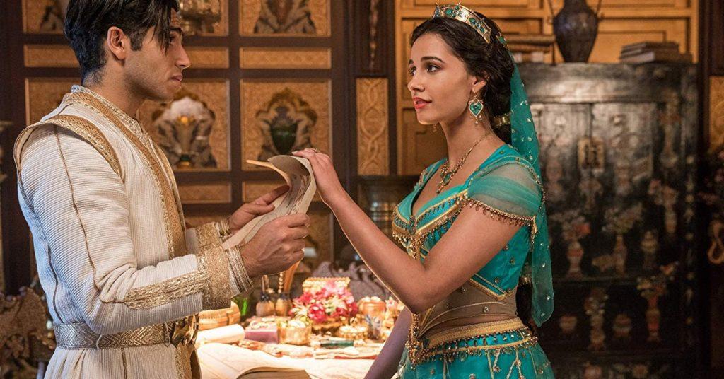 thời trang trong phim aladdin jasmine
