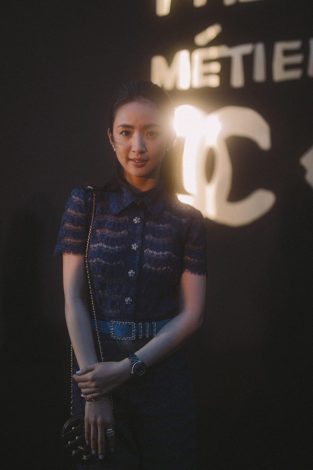 lâm y thần diện đồ chanel tại buổi trình diễn bst métiers d'art ở seoul