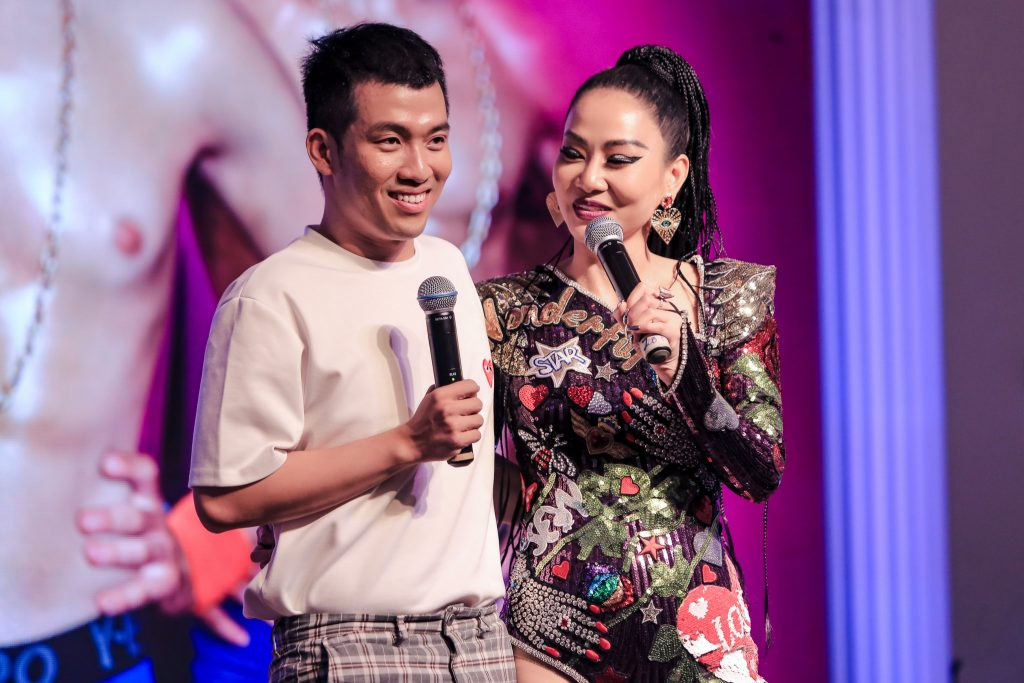 Thu Minh họp báo DIVA 011