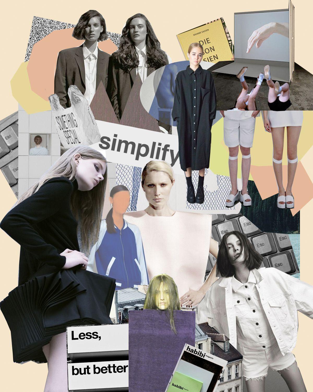 các xu hướng thời trang trên tạp chí