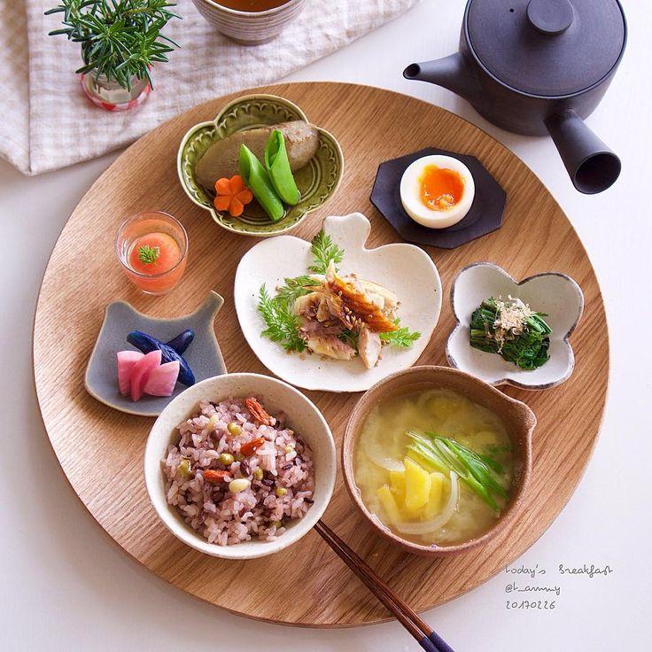 ăn uống lành mạnh - mâm thức ăn