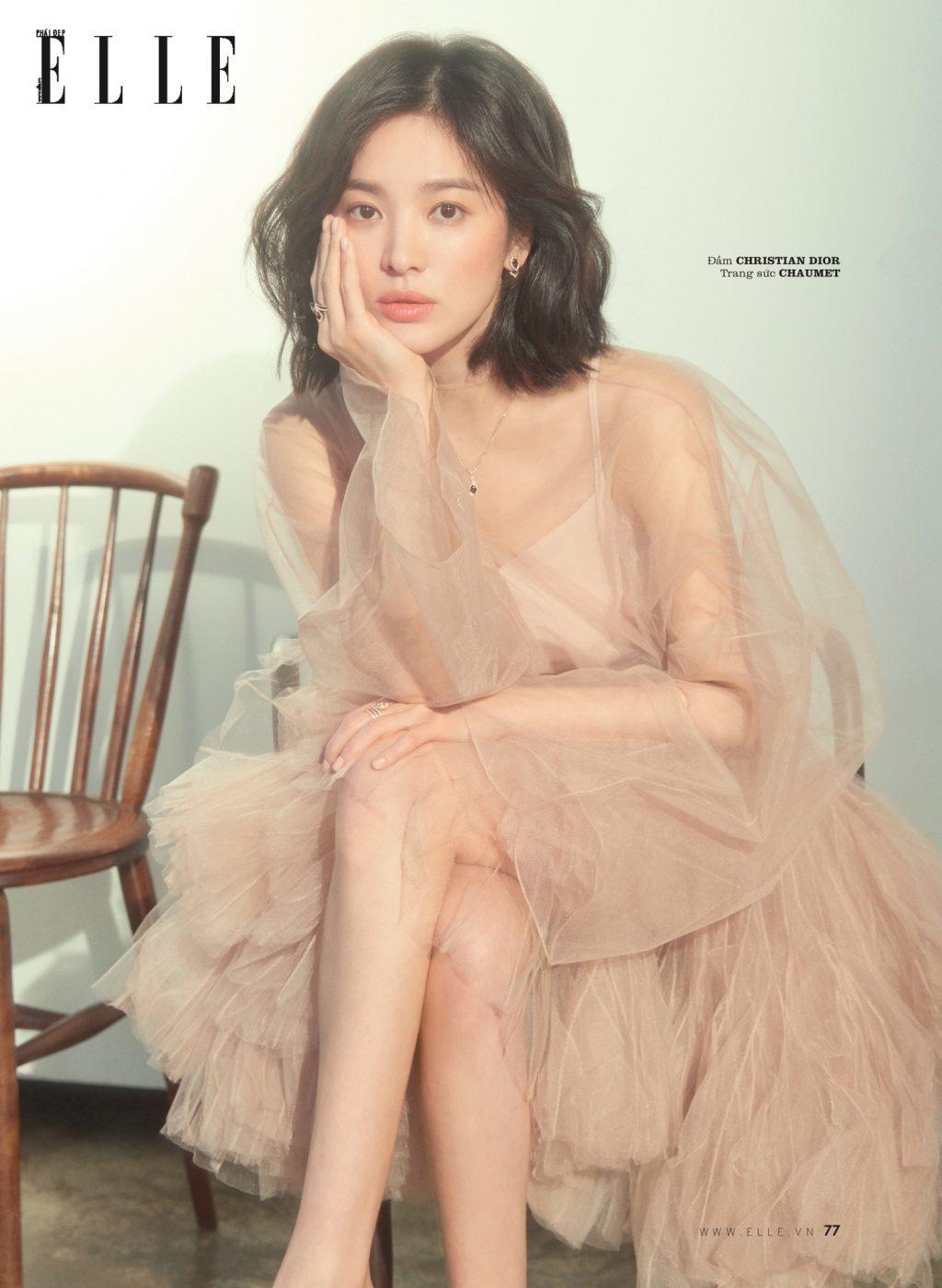 cách làm sạch da của Song Hye Kyo