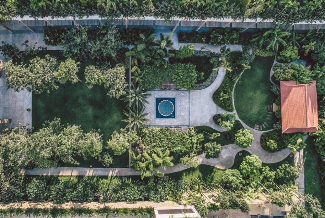 Không gian xanh tại Salinda Boutique Resort