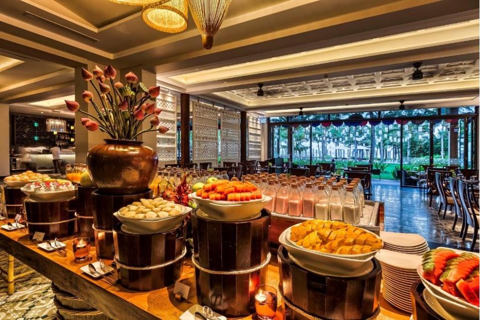 Nhà hàng ở Salinda Boutique Resort