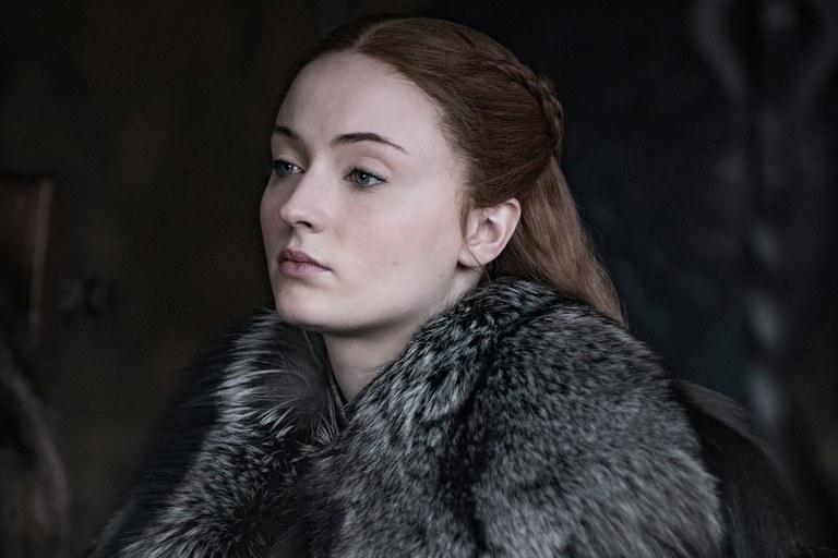 Sophie Turner trong vai Sansa Stark (Game of Thrones).
