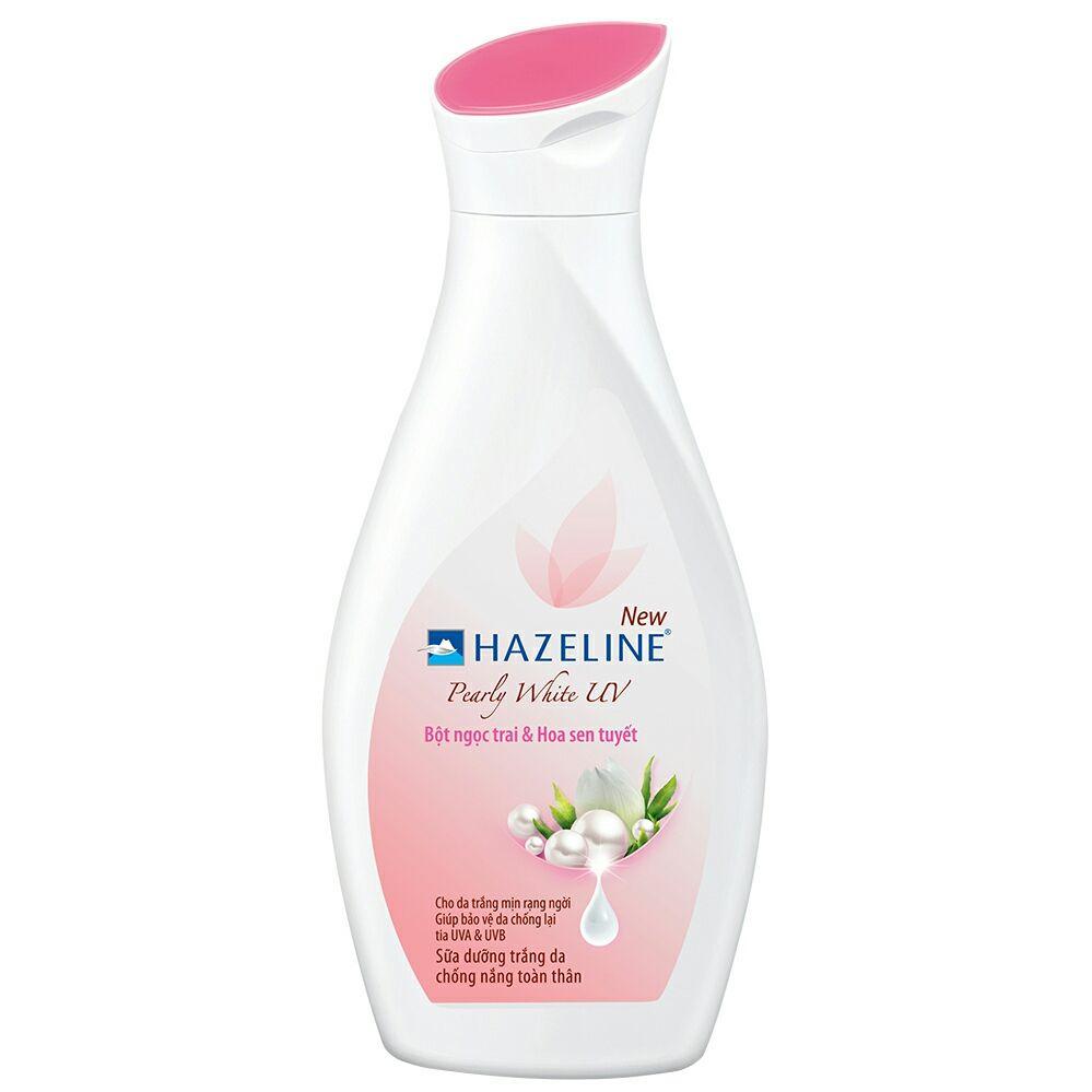 sữa dưỡng thể chống nắng Hazeline