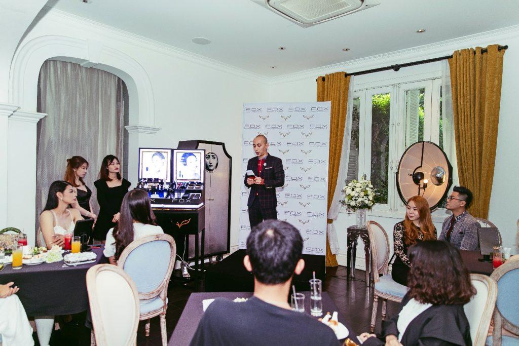 không gian tổ chức tiệc trà F.O.X Cosmetics