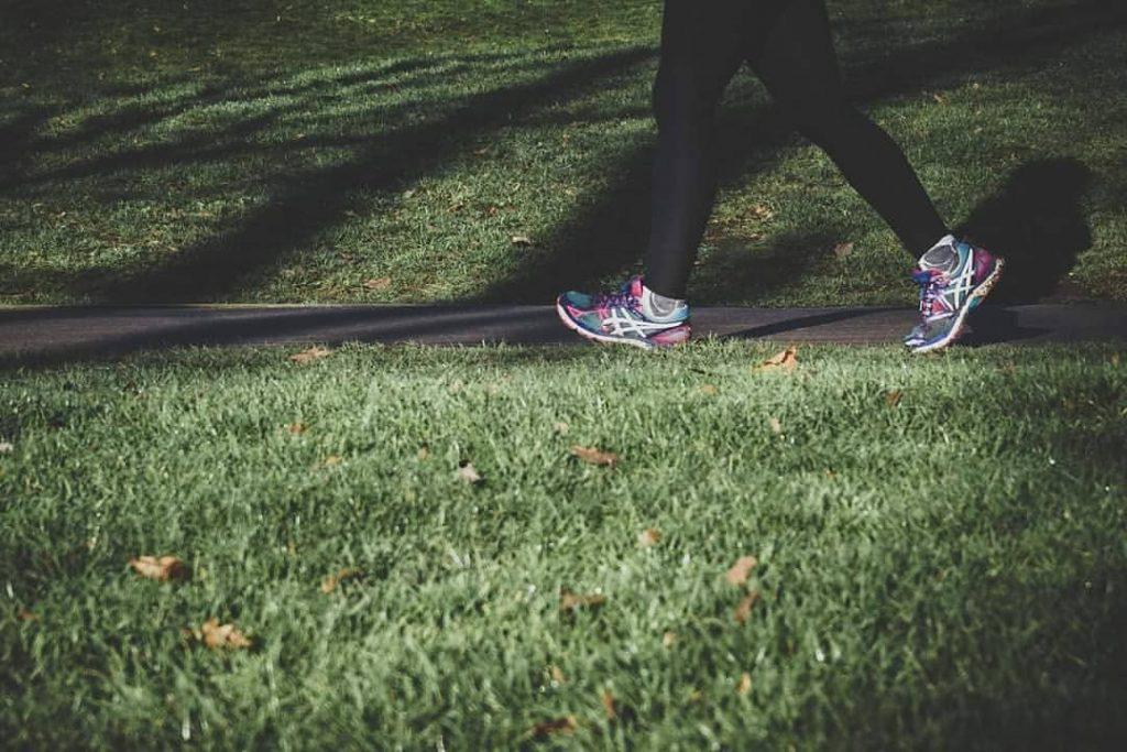 đi bộ tăng sự tỉnh táo
