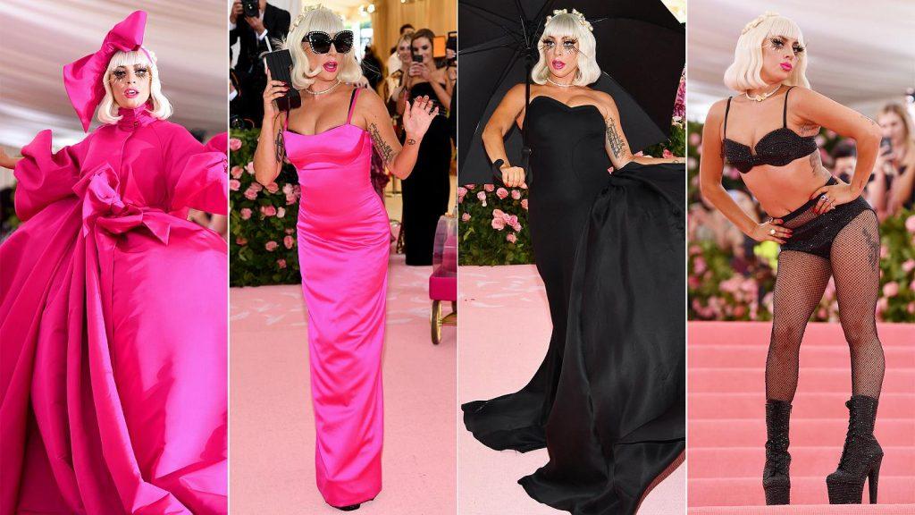 Lady Gaga diện trang phục của Brandon Maxwell tại Met Gala 2019