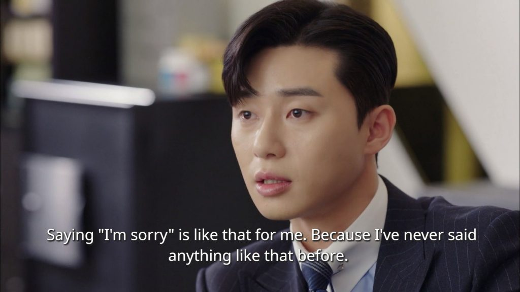 lee young joon xin lỗi