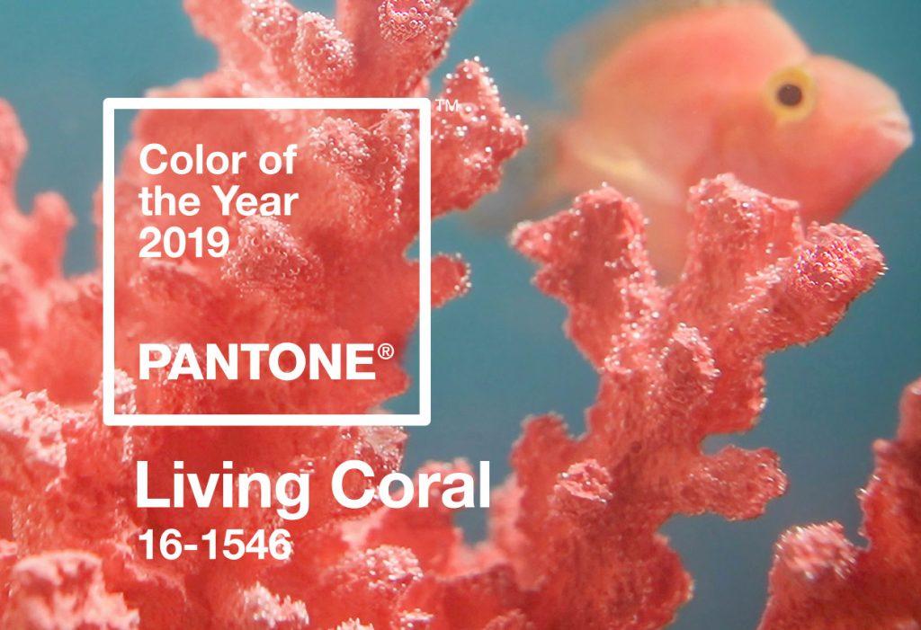 cách trang điểm - tông màu living coral