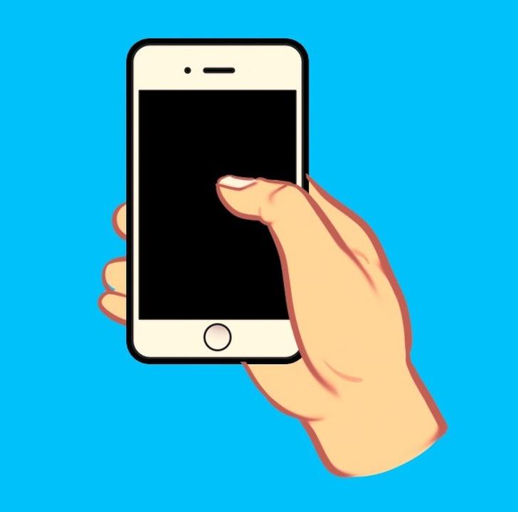 tính cách qua cách cầm điện thoại 02