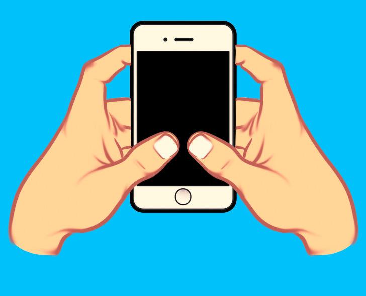 tính cách qua cách cầm điện thoại 04