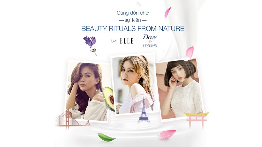 vẻ đẹp của phụ nữ Pháp qua dòng sản phẩm Dove