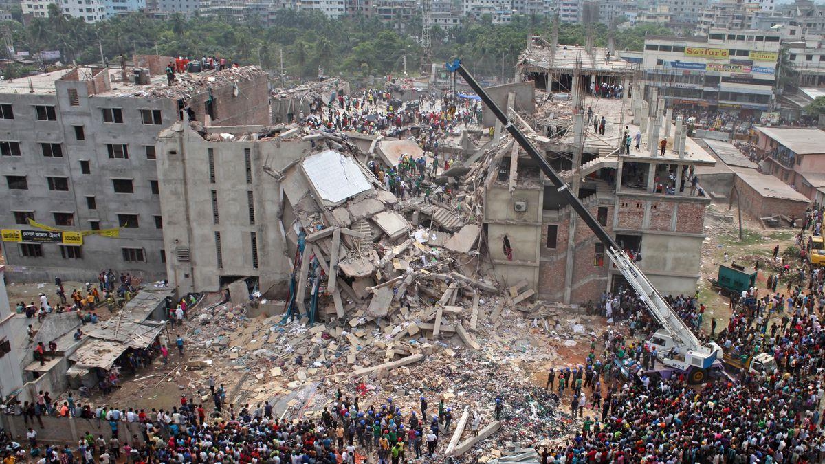 vụ sập nhà máy ở bangladesh