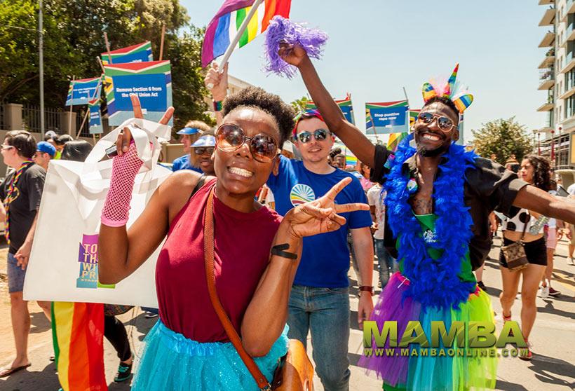diễu hành pride tại nam phi