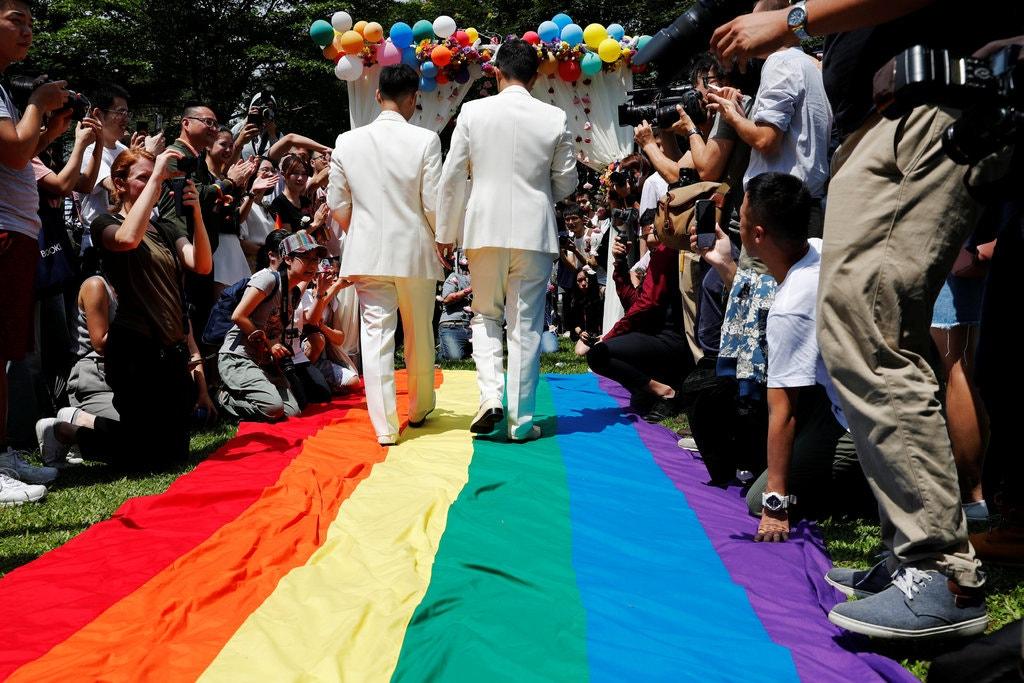 kết hôn đồng tính đài loan
