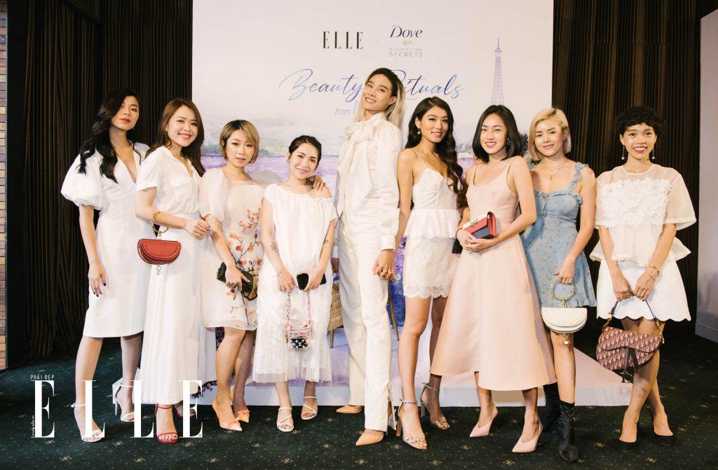 beauty blogger dự sự kiện ra mắt Dove Nourishing Secrets