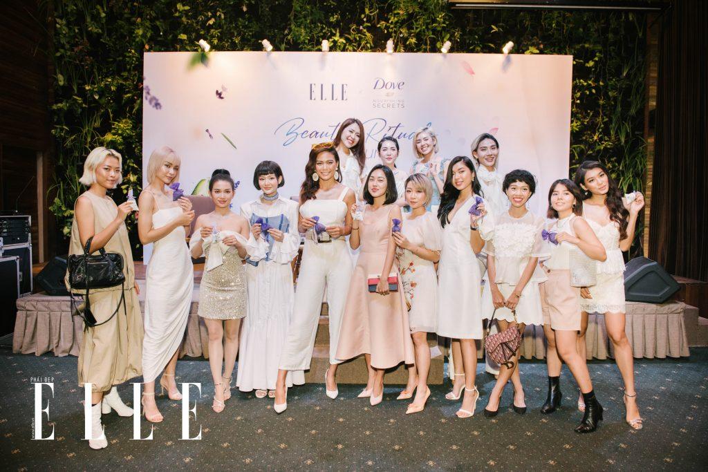 beauty blogger làm túi thơm từ lavender