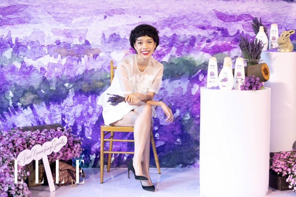 Nicky Khánh Ngọc sự kiện ra mắt Dove Nourishing Secrets