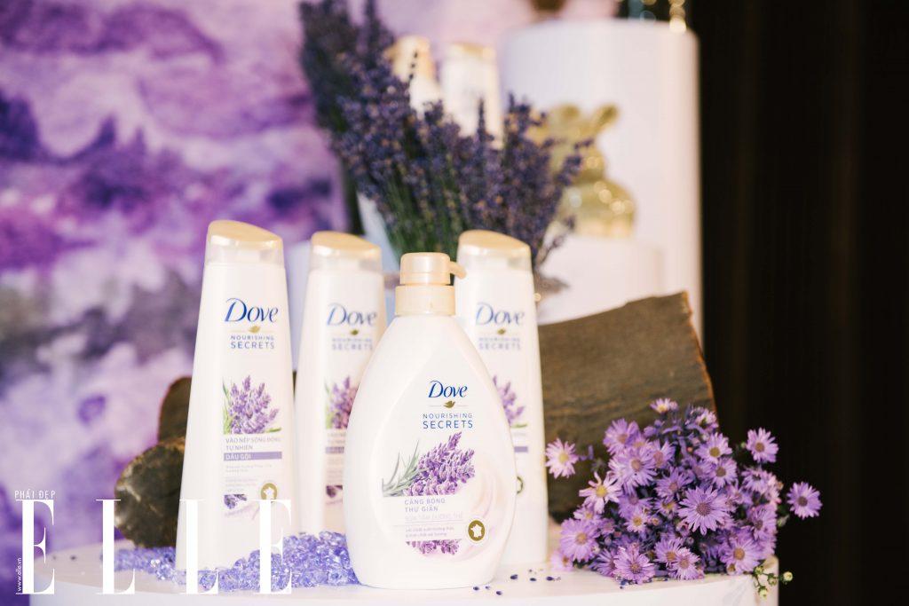 Dove Nourishing Secrets lavender và hương thảo
