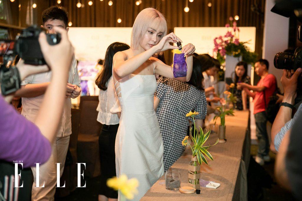 MLee làm túi thơm từ Lavender