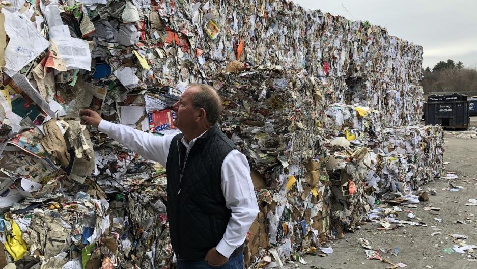 giấy tái chế không thể xuất khẩu sang trung quốc