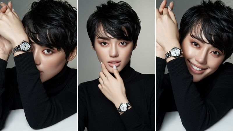 Khanh-linh-va-Lady-Gaga-Tudor-dong-ho-Black-Bay-watch