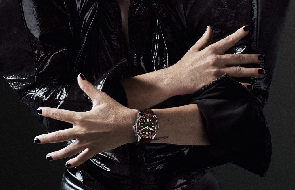 Lady-Gaga-Tudor-Black-Bay-watch