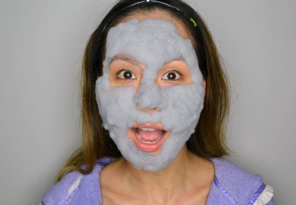 mặt nạ thải độc bong bóng