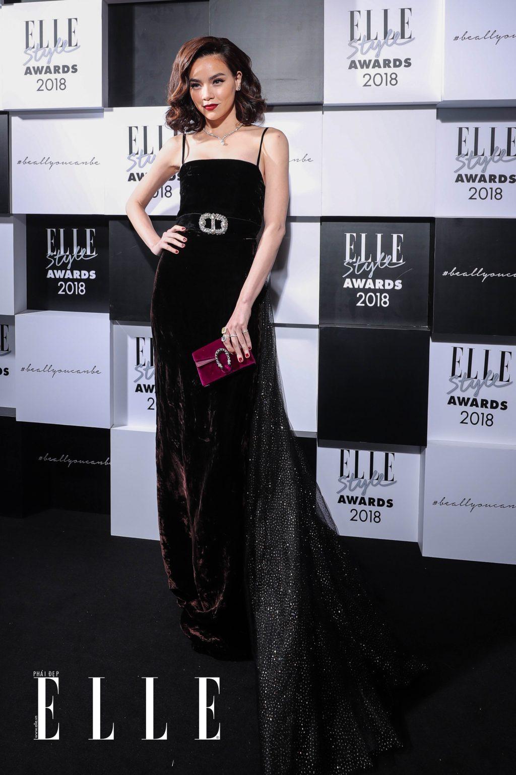 Hồ Ngọc Hà tại ELLE Style Awards 2018