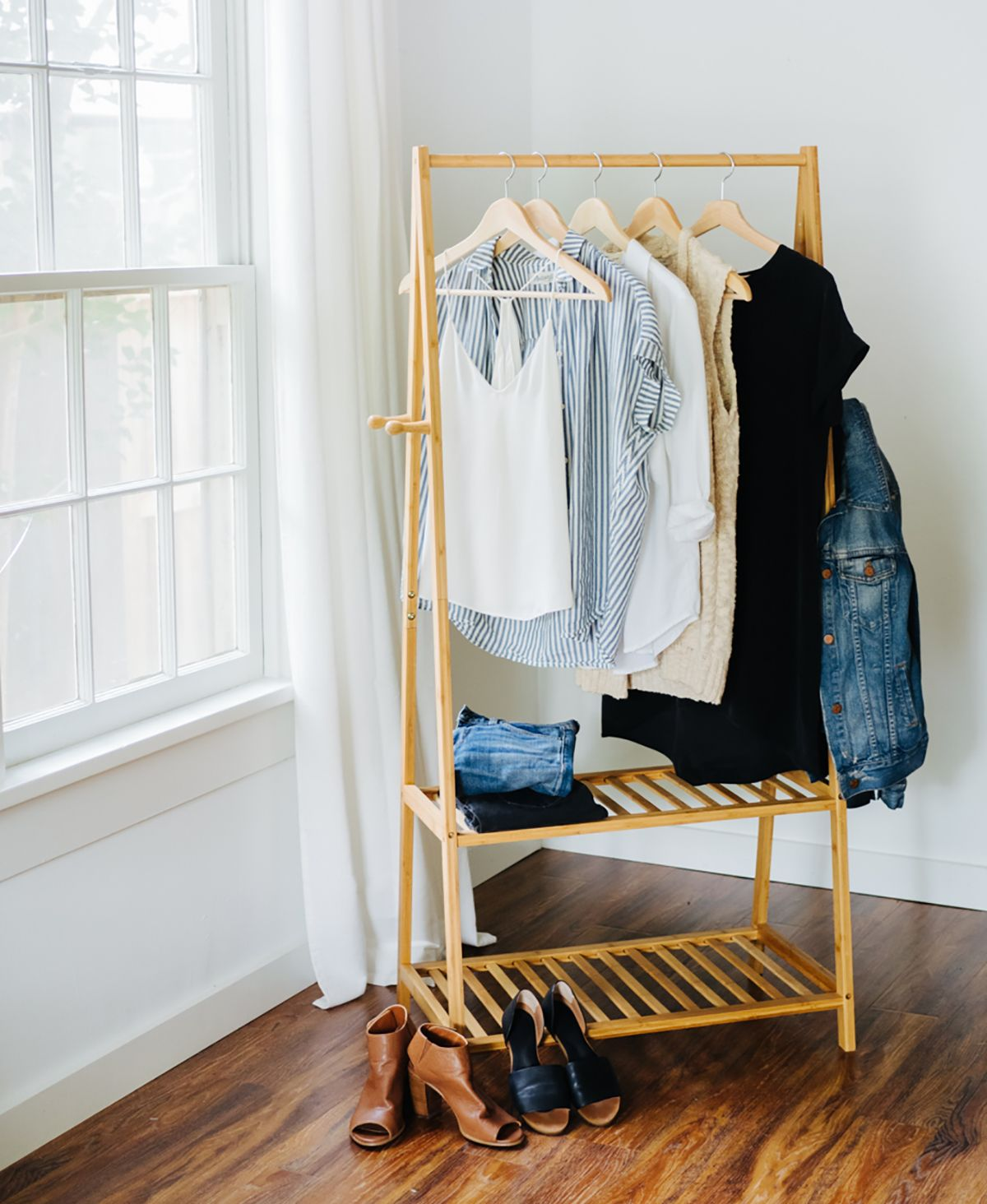 tủ quần áo con nhộng seven easy pieces của donna karan