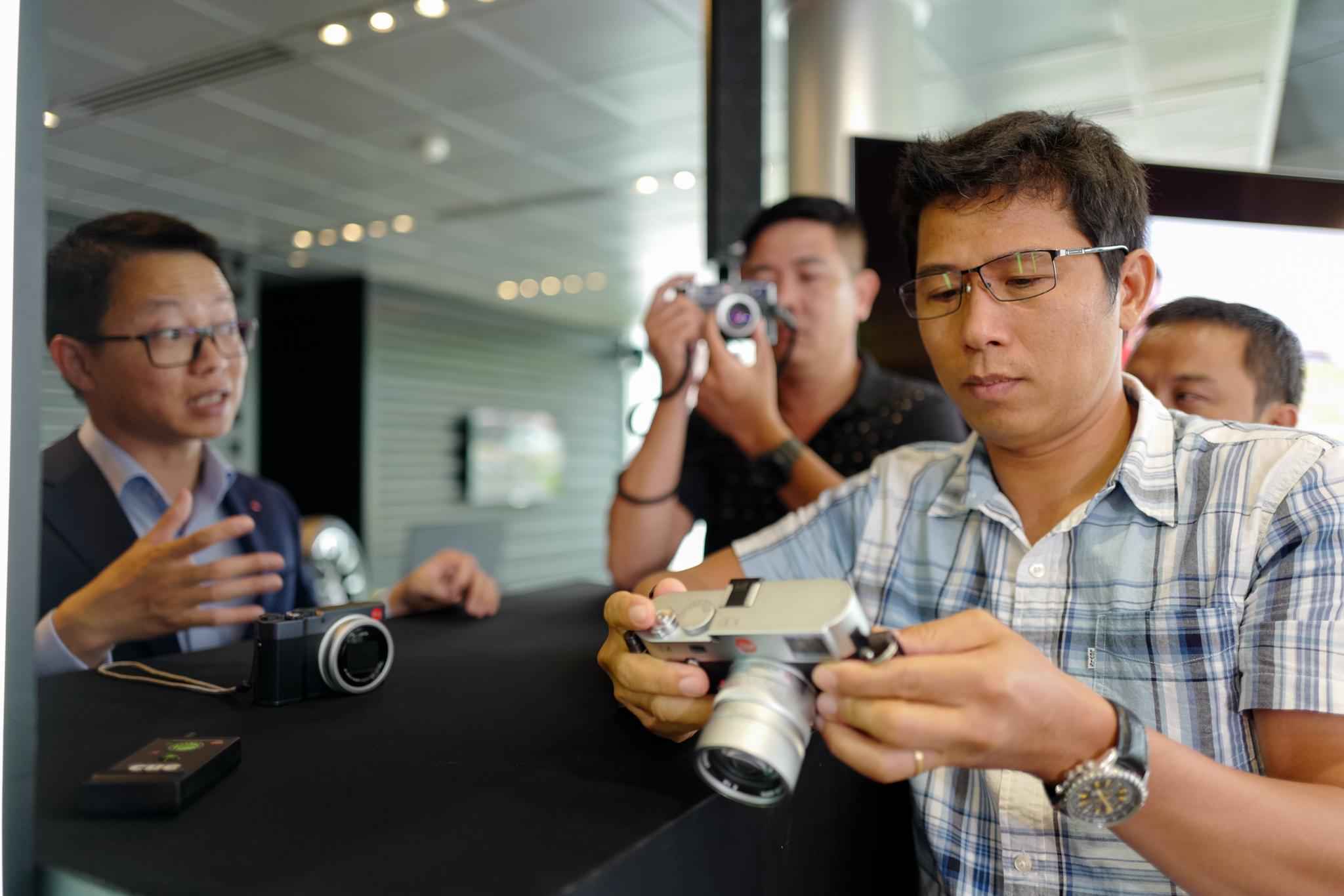 Anh Nguyễn Gia Phong – Đại diện Leica Camera Việt Nam