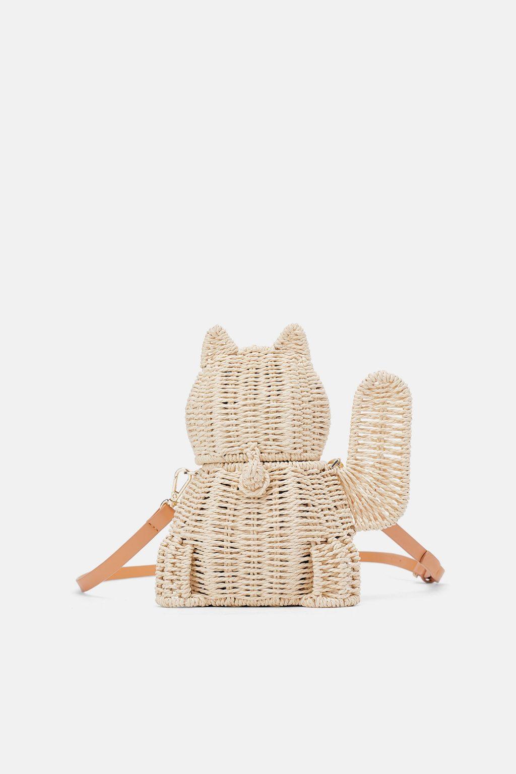 túi hình con mèo Zara