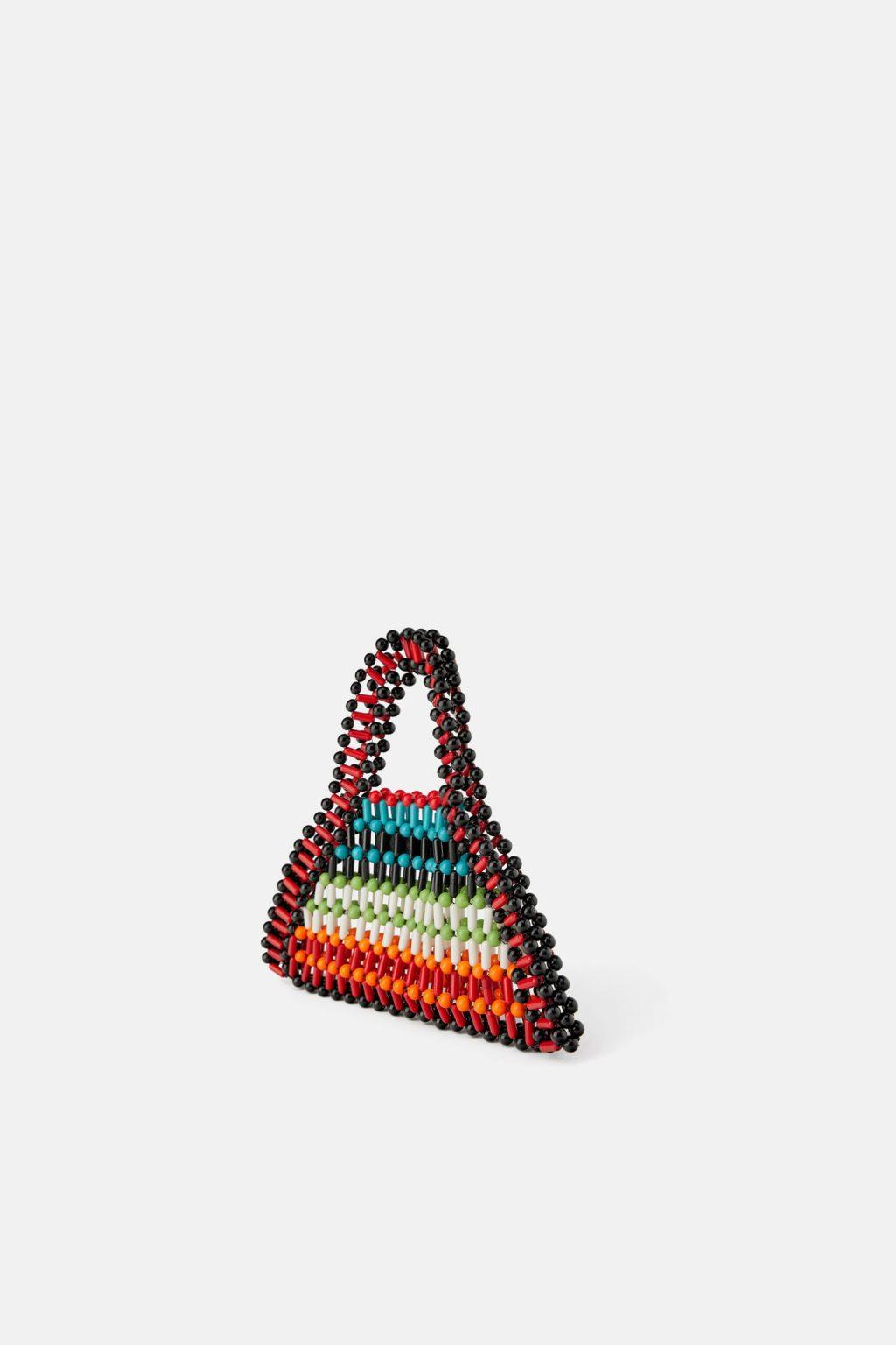 túi kết hạt Zara nhiều màu sắc