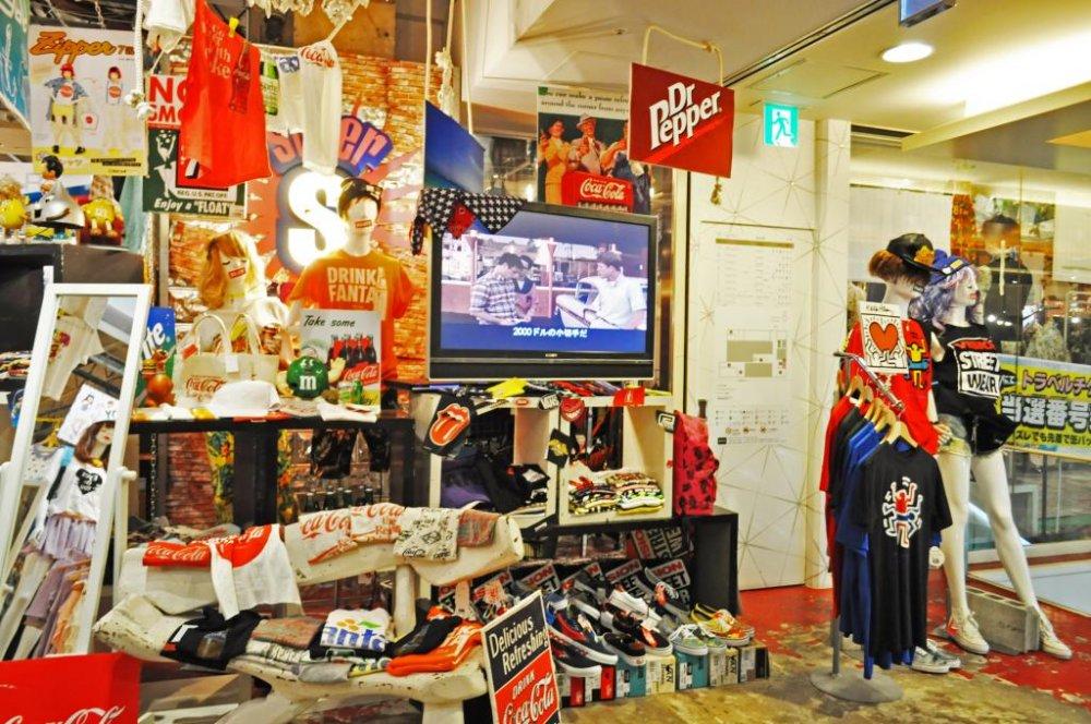địa điểm mua sắm ở nhật bản cửa hàng spinns ở fukuoka