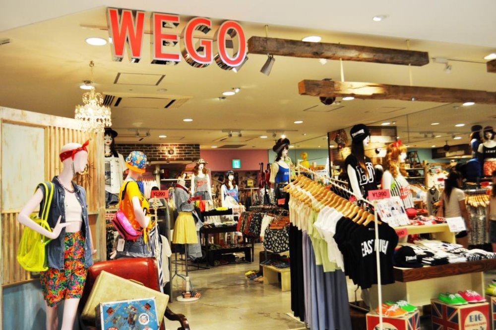 địa điểm mua sắm ở nhật cửa hàng wego ở fukuoka