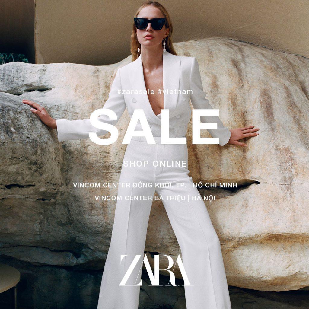 Zara giảm giá cho tín đồ thời trang Việt