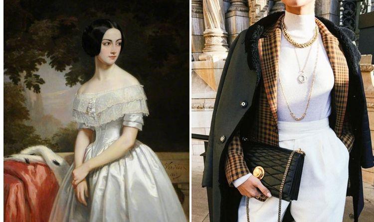 Phom dáng thời trang đặc trưng của cô gái Anh