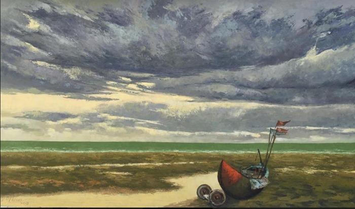 tin nghệ thuật triển lãm mây