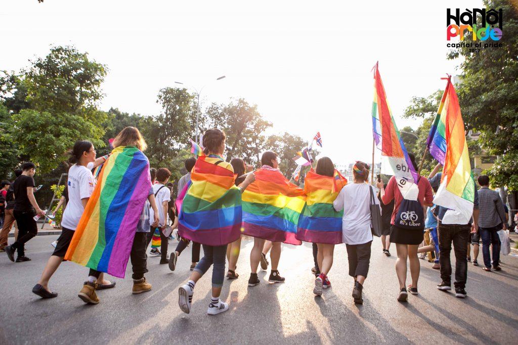 diễu hành của cộng đồng LGBTIQ