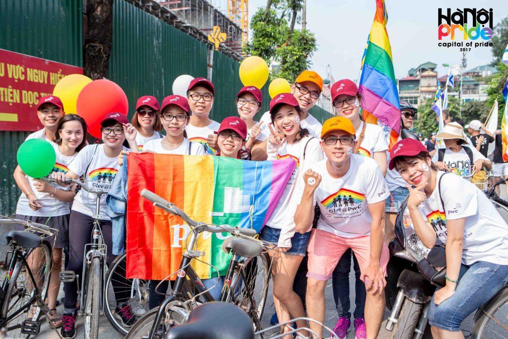 diễu hành của hanoi pride