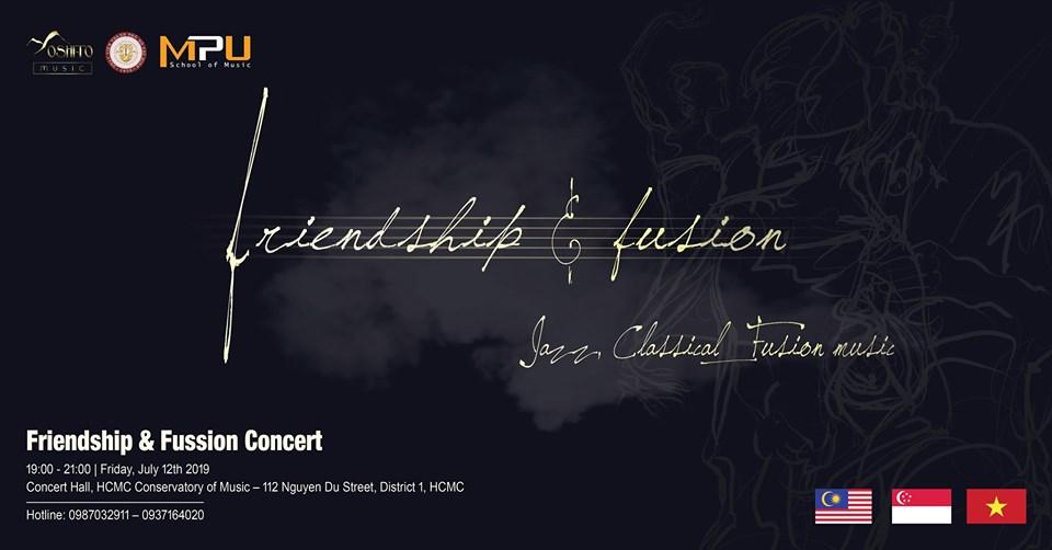 tin nghệ thuật hòa nhạc friends and fusion
