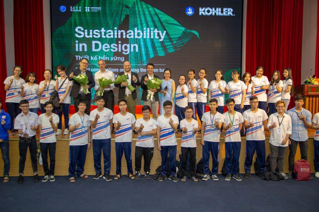 Các chuyên gia thiết kế bền vững cùng khán giả