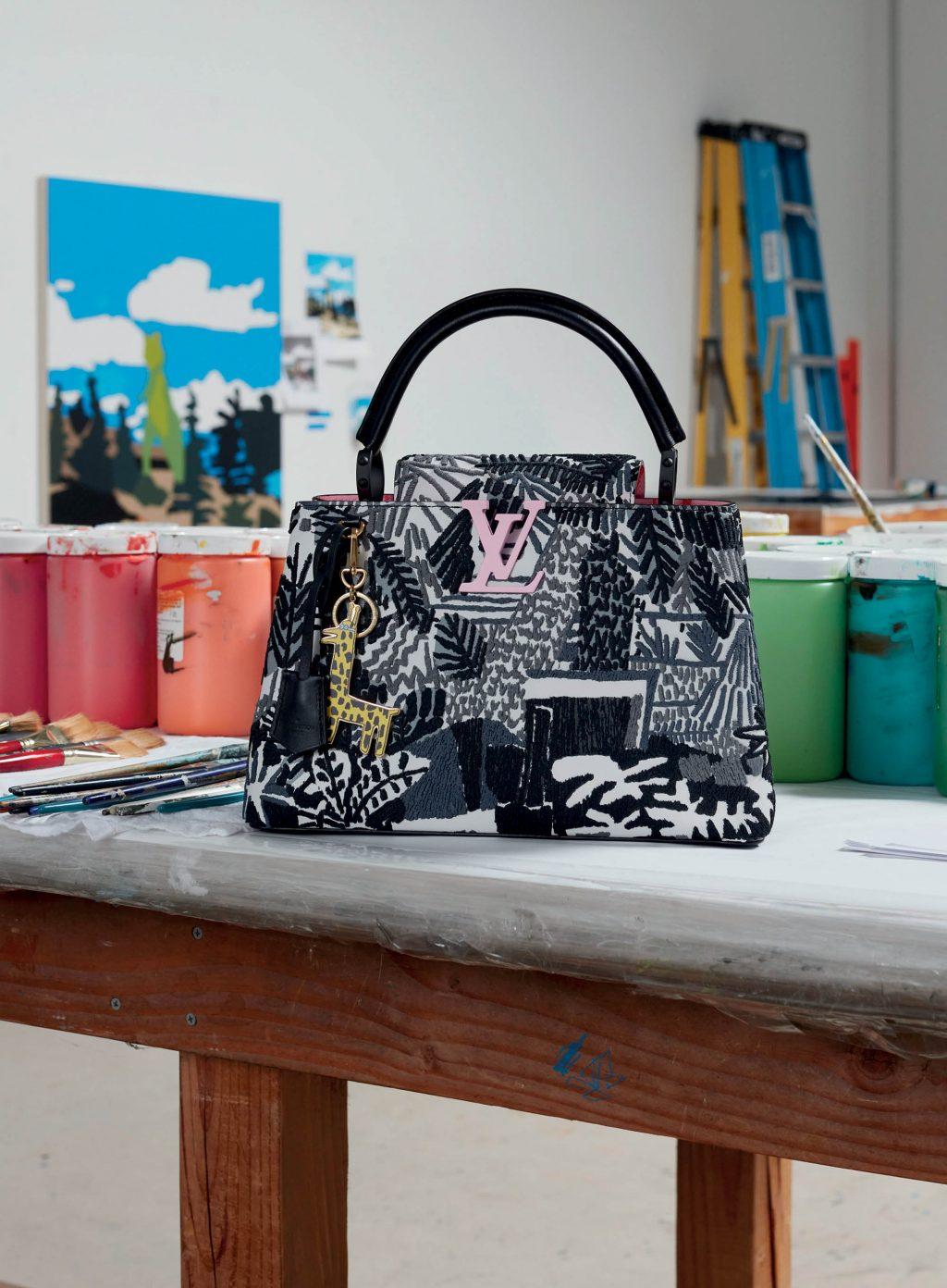 Túi xách Louis Vuitton Capucines của Jonas Wood