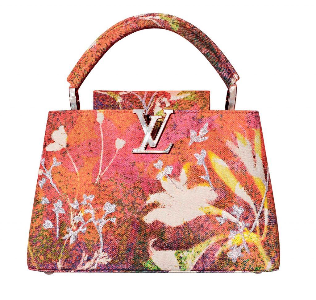 túi Louis Vuitton Capucines của Sam Falls