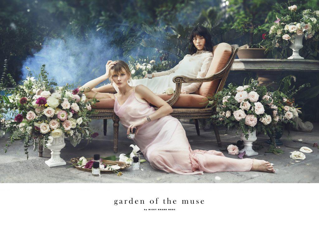 Nicky Khánh Ngọc - nước hoa Garden of The Muse 01