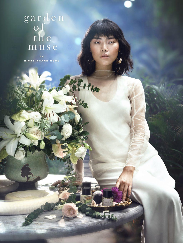 Nicky Khánh Ngọc - nước hoa Garden of The Muse 02