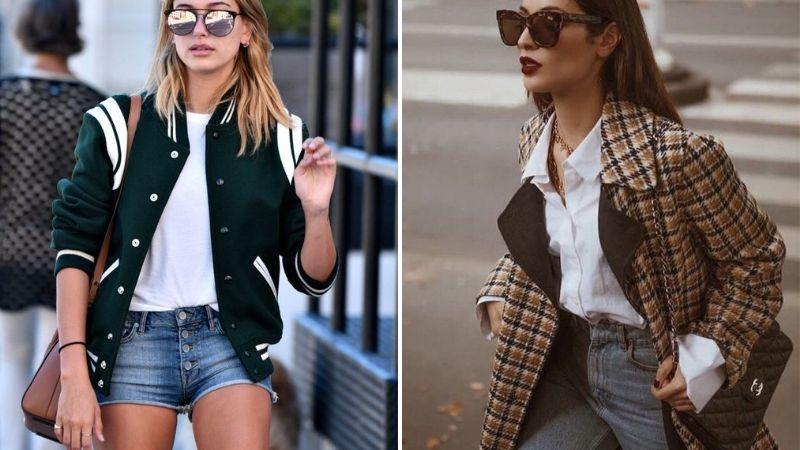 Cô gái Anh chuộng blazer, cô gái Mỹ diện áo khoác varsity